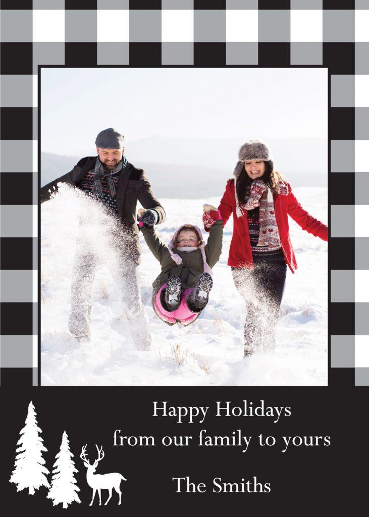 Sample holiday card