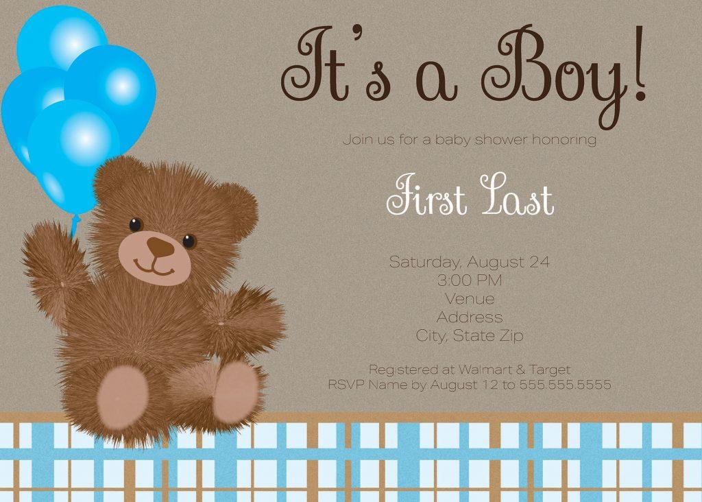 Sample birth announcement