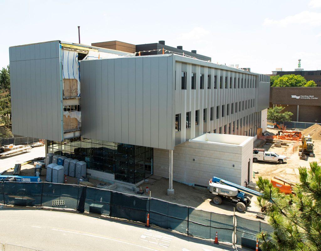 Construction photo of MSB