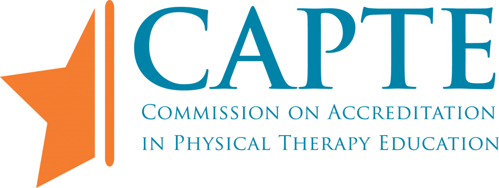 CAPTE Commission on Accreditation in Physical Therapy Education logo
