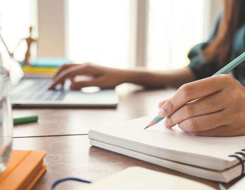 Individual writing
