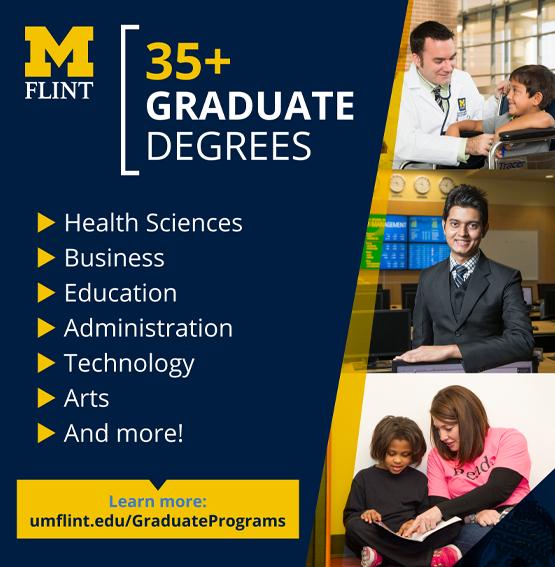 UM-Flint Grad Programs ad