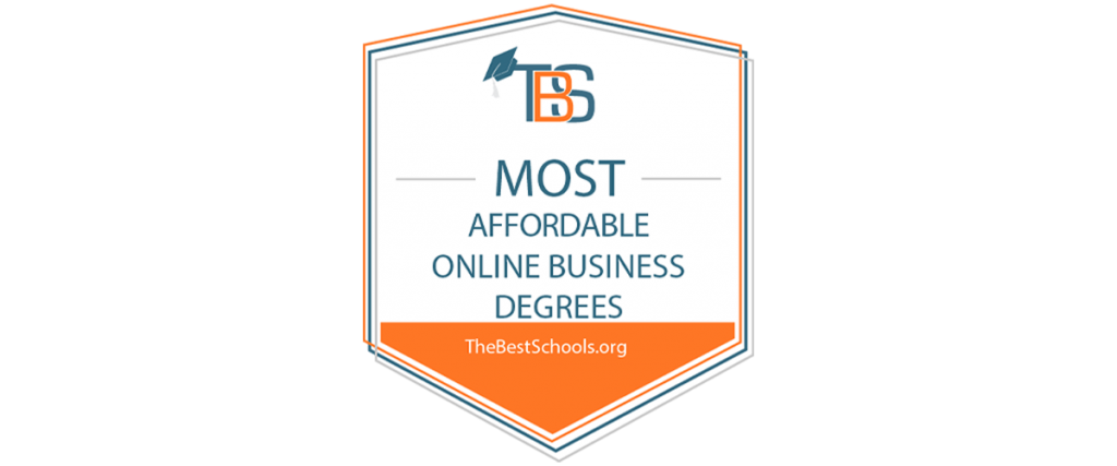 Most Affordable Online Business Degrees TheBestSchools.org logo