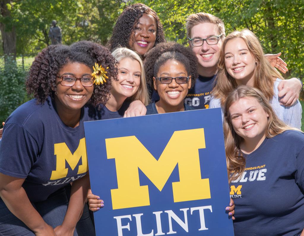 UM-Flint students