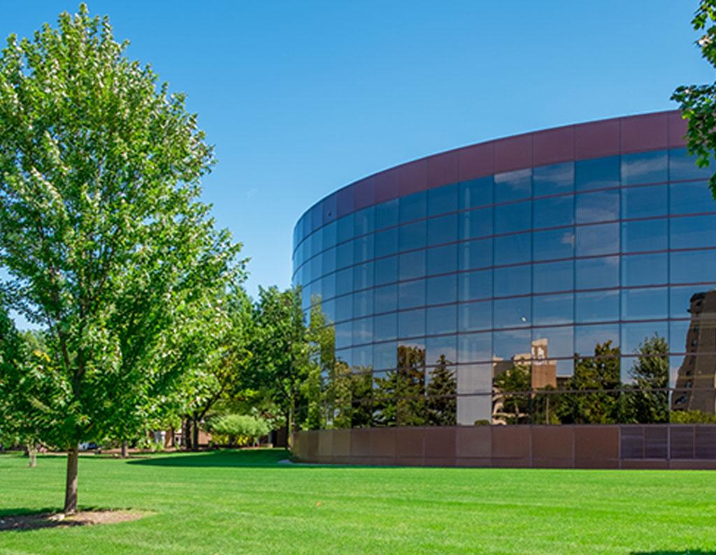 UM-Flint Library exterior