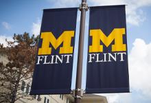 UM-Flint banners