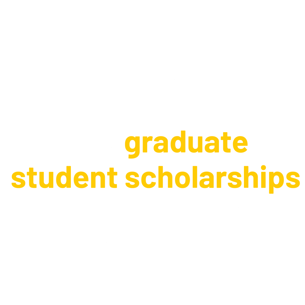 New graduate student scholarships are now available for Fall 2021! graphic.
