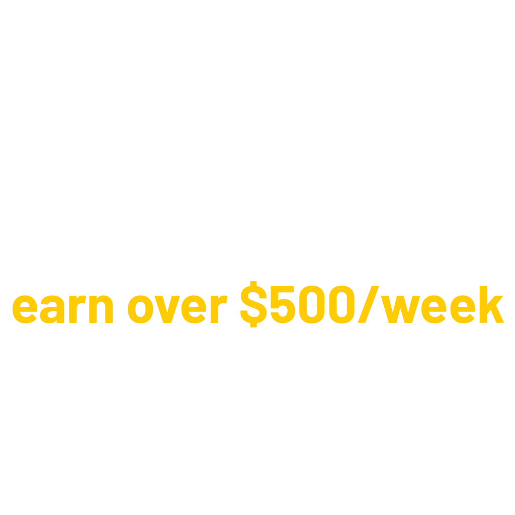 People with bachelor degrees earn over $500/week more than those with only a high school diploma graphic.