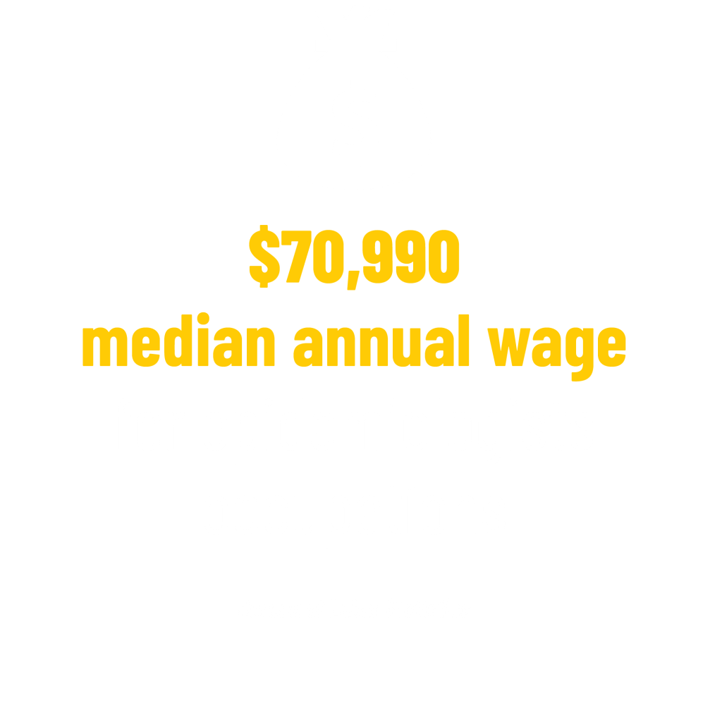 $70,990 median annual wage for epidemiologists occupations stat. Bureau of Labor Statistics